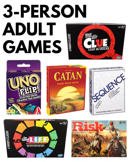 Games for adults - the best 3 player games for games nights http://liketk.it/3eZ9Y @liketoknow.it #liketkit   #LTKunder50 #LTKfamily #LTKkids