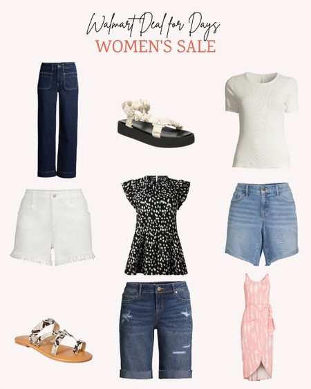 It's the final day of Walmart's Deals For Days event. Don't miss out on great deals today for women's summer favorites.  #WalmartFashion  Follow me for more ideas and sales.   Double tap this post to save it for later.   #LTKsalealert #LTKunder50 #LTKSeasonal