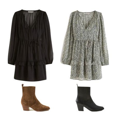 Dress and booties in two cute colors. Now on sale for LTK DAY!   #LTKsalealert #LTKSale #LTKstyletip