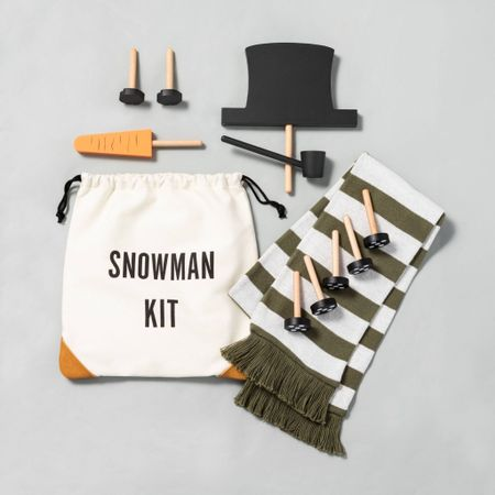 Look at this cute Snowman Kit!!! Oh my gosh my kids are going to love using this all winter, and many winters to come! 😍 Go snag one!  #LTKhome #LTKkids #LTKfamily