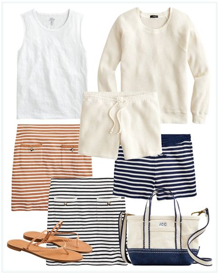 summer outfit, vacation outfit, beach outfit, travel outfit, striped outfit, fourth of july outfits. http://liketk.it/3idhk #liketkit @liketoknow.it #LTKtravel #LTKstyletip #LTKworkwear @liketoknow.it.family @liketoknow.it.home