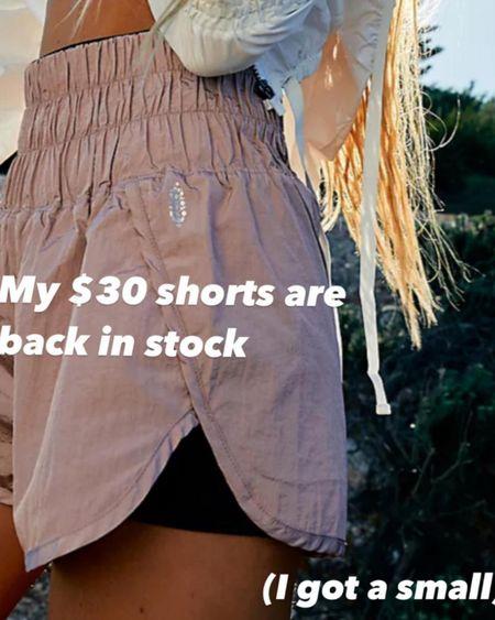 $30 shorts back in stock 🙌🏻 @liketoknow.it #liketkit http://liketk.it/3hNlP #LTKunder50 #LTKfit
