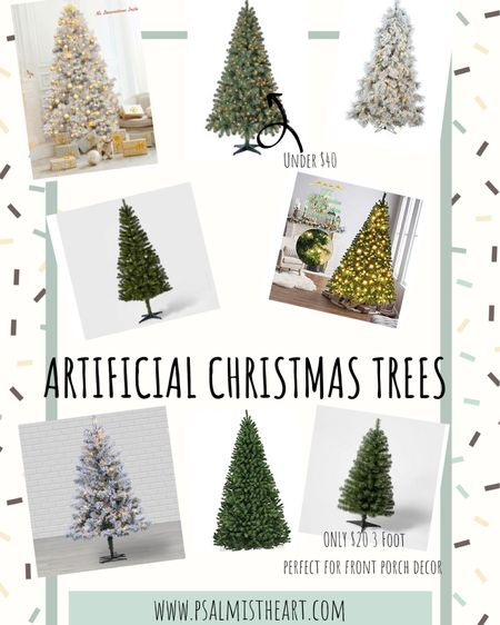 Some of the best artificial Christmas trees! Some are even already on Black Friday Sale! http://liketk.it/305yn #liketkit @liketoknow.it