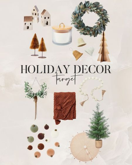 Target holiday decor