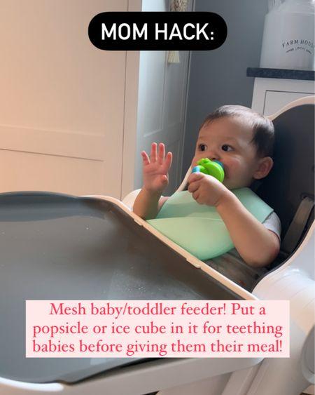 Baby essentials. Mesh baby feeder. Mom hacks. Toddler essentials. Teething remedies. Amazon finds. @liketoknow.it @liketoknow.it.family http://liketk.it/3jY8Z #liketkit #LTKbaby #LTKkids #LTKunder50