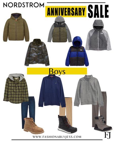 Boys winter style  #nsale Boys jackets Boys winter jackets Boys boots  #LTKkids #LTKsalealert #LTKstyletip