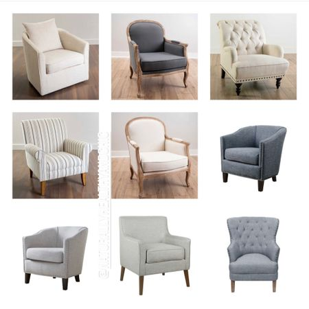 """Working on picking out accent chairs for my office. Obsessed with all of these, AND they're 20% off for Mother's Day! Use code """"mom"""" on your order. Snag them now while they're in stock! Whether you want office chairs, accent for bedroom, or swivel for a fun spot in the house. #liketkit #LTKsalealert #LTKhome #LTKfamily @liketoknow.it @liketoknow.it.family @liketoknow.it.home Shop a screenshot of this pic with the LIKEtoKNOW.it shopping app Shop http://liketk.it/3eReg"""