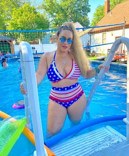 America flag Bikini http://liketk.it/3iBWm @liketoknow.it #liketkit #LTKDay #LTKunder50 #LTKswim #LTKtravel #LTKstyletip
