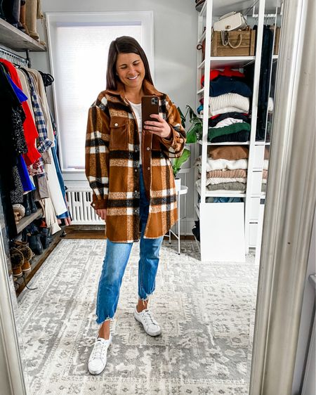 🖤 one | two | three | four 🖤  Personally I love them all, but I'm clearly biased since they're in my closet 😉 Sharing links to all these (some limited sizes left, FYI) + more plaid shacket finds in Stories 🔝 as well as my LTK page - just copy/paste the URL below to see all the options if my Story expires at the time of reading this 😘   http://liketk.it/38uJx #liketkit @liketoknow.it