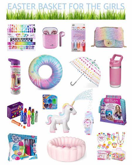 http://liketk.it/2MnnP #liketkit @liketoknow.it #LTKspring #LTKkids #LTKunder50 Easter Basket ideas for the girls. #LTKSeasonal