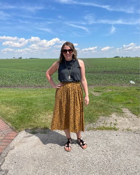 We went to Eastern Iowa today to celebrate my mom's retirement. It was a beautiful day to spend with family. Hope your weekend has been restful!   http://liketk.it/3gXGO #liketkit @liketoknow.it #LTKunder50 #LTKstyletip #LTKcurves