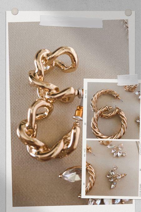 New favorite gold hoop earrings under $10! http://liketk.it/396S1 #liketkit @liketoknow.it #LTKbeauty #LTKsalealert #LTKitbag