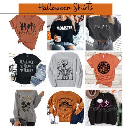 Fun Halloween shirts!  #LTKunder50 #LTKSeasonal #LTKunder100