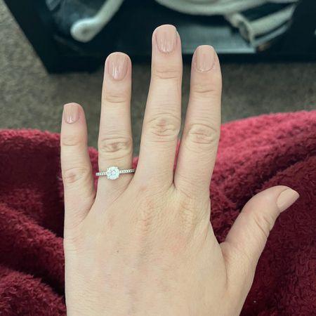 "felt like a good day to try new press on nails! 💅🏻 i got the ""short"" size and cut/shaped to my preference…so easy! 🙌🏻  http://liketk.it/3jYQ8 #liketkit @liketoknow.it #LTKbeauty #LTKwedding #LTKstyletip"