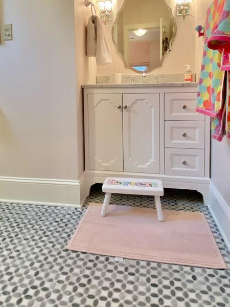 Personalized step stool for toddler bathrooms   #LTKfamily #LTKbaby #LTKhome