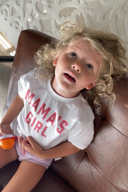 Mama's girl tee matching mommy and me tees  Use code MORGAN20 for 20% off 😍  #LTKkids #LTKunder50 #LTKfamily