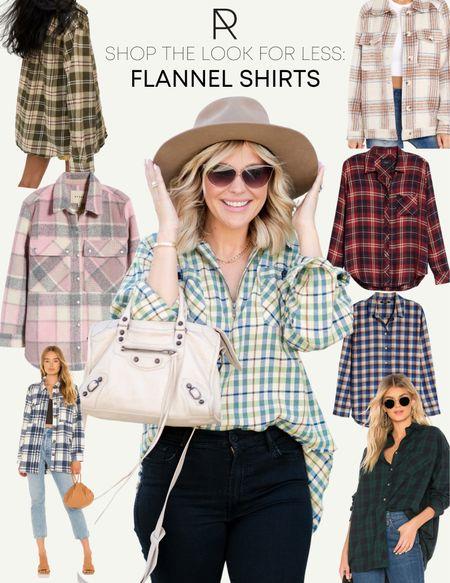 Shop the look for less // flannel shirts under $150   #LTKstyletip #LTKunder100 #LTKSeasonal