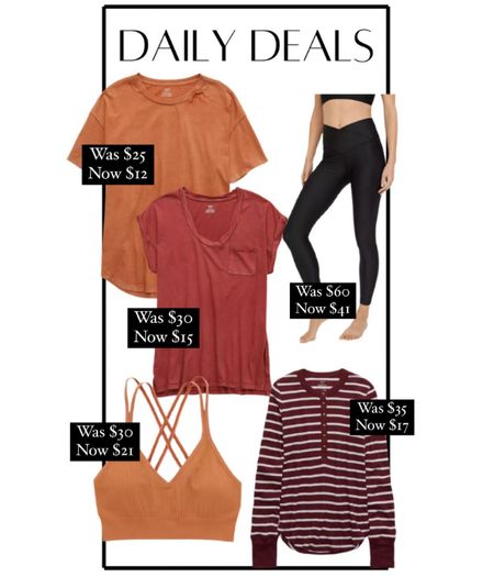 Aerie sale! Shine leggings, bralette, Henley, oversized tees, casual outfits, summer outfits, fall outfits   #LTKunder50 #LTKsalealert #LTKfit