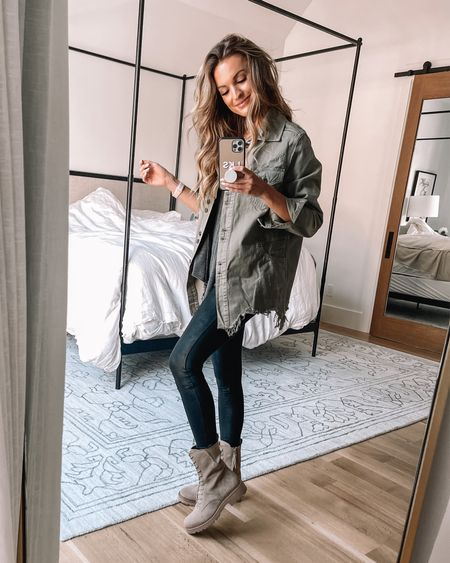 love these combat boots from the nsale!  #LTKsalealert