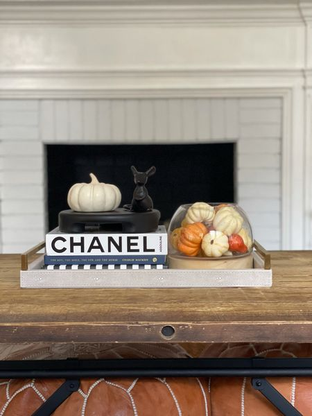 Fall home decor coffee table dining room decorations styled styling style velvet pumpkins neutral greenery stems natural modern minimal Follow my shop on the @shop.LTK app to shop this post and get my exclusive app-only content! #liketkit #LTKhome #LTKHoliday #LTKSeasonal #LTKSeasonal #LTKHoliday #LTKhome   #LTKhome #LTKHoliday #LTKSeasonal