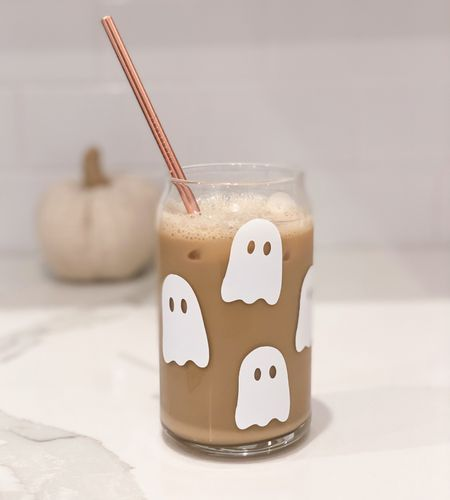 Just launched Halloween glass can cups in my Etsy shop 👻 💕  Handmade, Libbey Glass, beer glass, soda glass, iced coffee glass   #LTKunder100 #LTKunder50 #LTKSeasonal
