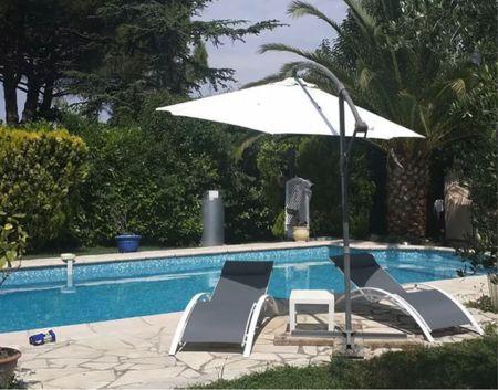 Poolside Summer ☀️   #poolfurniture #loungechair #Sunchair #SunTan #Backyard #Patio  #LTKSeasonal #LTKsalealert #LTKhome