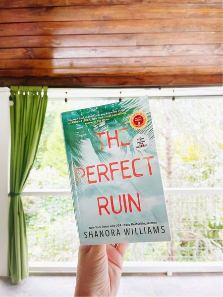 Such a great book! Perfect twisty mystery beach read if you need one. 🌴   #LTKswim #LTKhome #LTKstyletip