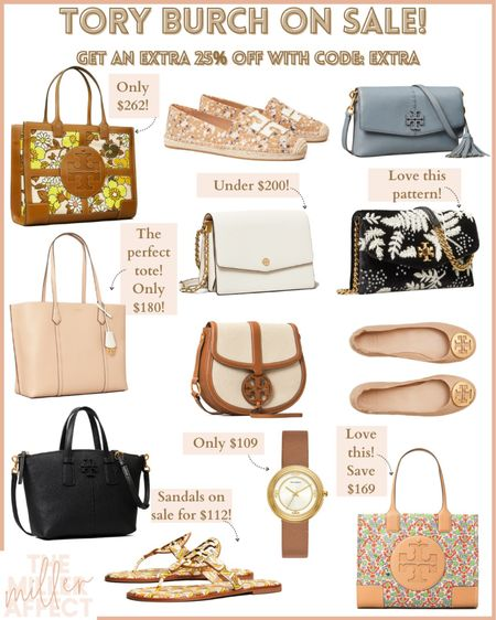 Tory Burch is having an amazing sale right now!! Get an extra 25% off with code: EXTRA  Such great finds 🤩 http://liketk.it/3hSHG #liketkit @liketoknow.it #LTKsalealert #LTKstyletip