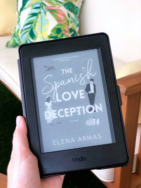 Summer beach read book recommendation: The Spanish Love Deception   Read by the water with an Amazon Kindle Paperwhite   #LTKhome #LTKunder100 #LTKSeasonal