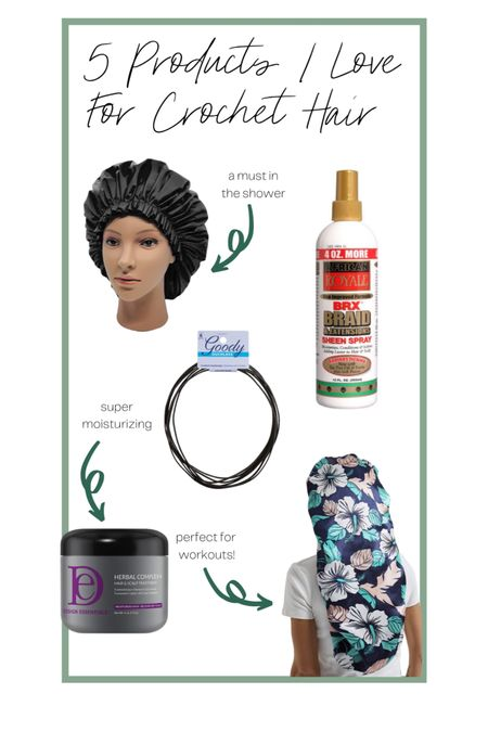 I've had crochet twists for a few months now and really love the style - here are the bonnet, moisturizing gel, hair ties, and shower cap I swear by. Also linked the actual hair! http://liketk.it/3d8OA #liketkit @liketoknow.it #LTKhair