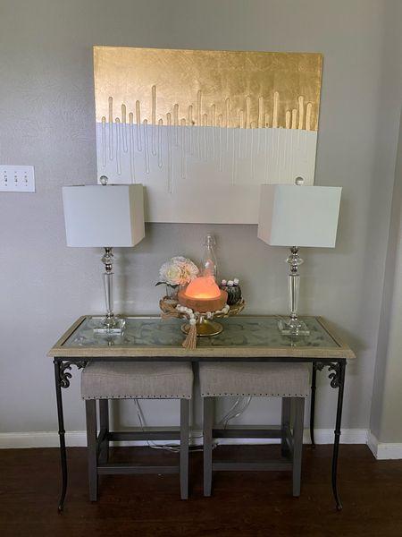 Small wall decor, boho decor, home decor, entry way decor, dining room decor, neutral home decor, gold and white decor  #LTKhome