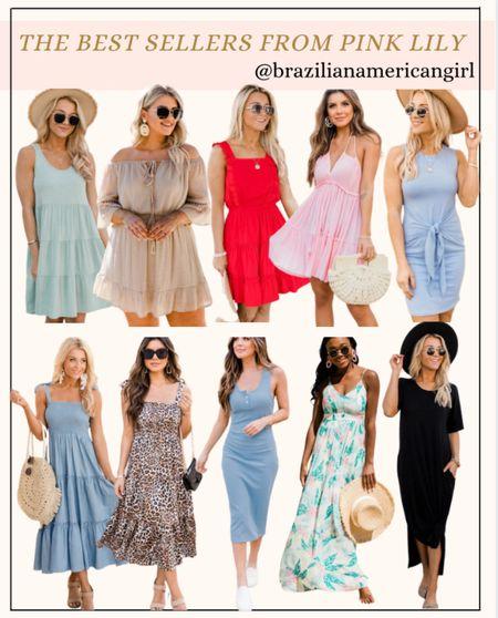 Pink Lily Dresses   #spring #springdresses #summerfashion #summerdresses #springdress #springoutfit #springfashion #springstyle #dresses #dress #maxidresses #maxidress #floraldress #floralprintdress #mididress #vacation #vacationoutfits #bestdressed  #LTKsalealert #LTKunder50 #LTKstyletip
