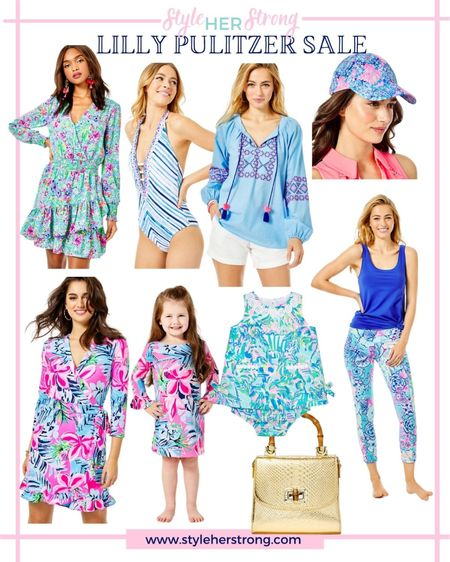 Lilly Pulitzer SALE mommy and me matching outfits baby girl dress luxeletic wedding guest dresses resort wear preppy   #LTKfamily #LTKtravel #LTKsalealert