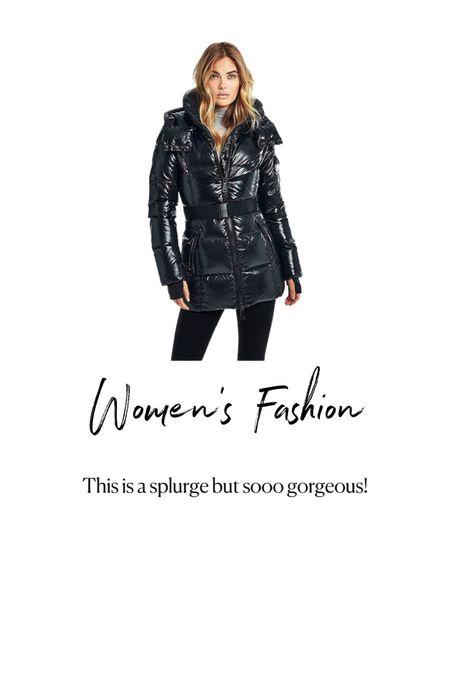 Amazon Fashion. Women's black winter jacket   #LTKunder100 #LTKshoecrush #LTKstyletip