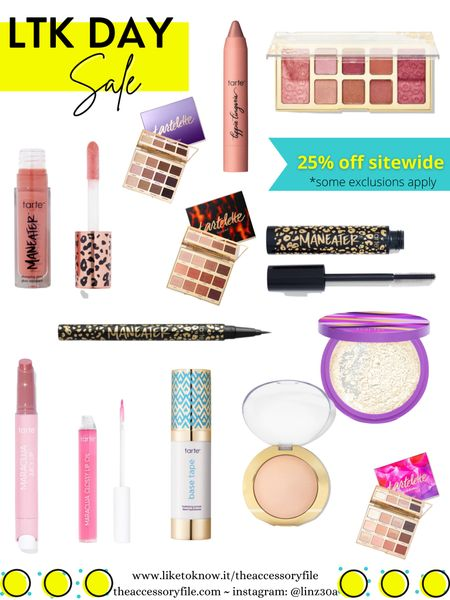 Tarte cosmetics, lipstick, maracuja lip balm, eyeshadow palette, tarte toasted, eyeliner, liquid eyeliner, travel bag, makeup bag, makeup brush, makeup brushes, makeup brush set, beauty products, highlighter, base tape primer, shape tape setting powder   http://liketk.it/3hibp #liketkit @liketoknow.it #LTKDay #LTKbeauty #LTKsalealert