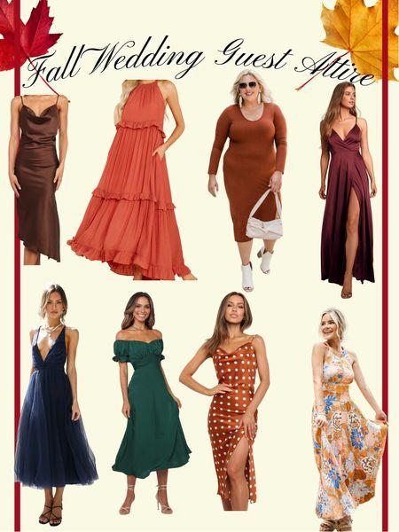 Fall Wedding Guest  Special Event Attire Fall Fashion  Maxi Dress  #LTKunder100 #LTKunder50 #LTKwedding