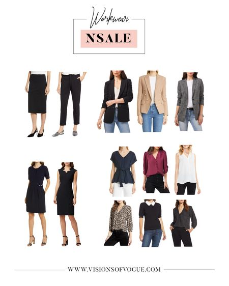 From a corporate career girl, these are my favorite business casual workwear pieces from the Nordstrom Anniversary Sale (NSALE)! I love this beige blazer, the pencil skirt and dresses, and all the work blouse top options!   #LTKunder50 #LTKsalealert #LTKworkwear
