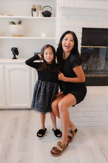Mommy and me cozy sandals for the Fall. We love this Koolaburra slippers because they can be worn indoors or outdoors. We are ready for back to school and all of the cozy events.   #LTKfamily #LTKshoecrush #LTKkids