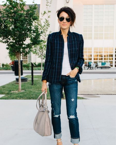 Grab this whole outfit for less today! My blazer and jeans are both on sale. These are my go-to jeans lately and definitely worth the investment. http://liketk.it/2EwO7 #liketkit @liketoknow.it #LTKworkwear #LTKstyletip #LTKsalealert