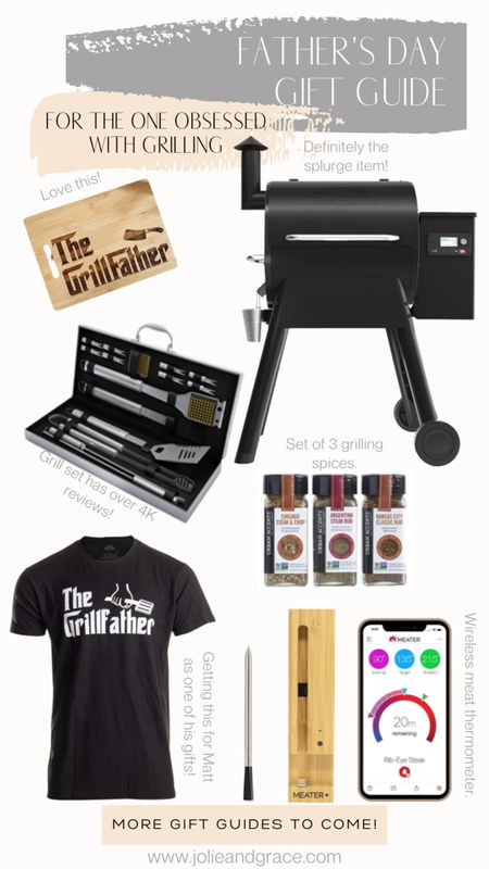 Father's Day gifts guide for the man/guy/men who love to grill /bbq/ cook. Dad//men's http://liketk.it/3gITe @liketoknow.it #liketkit