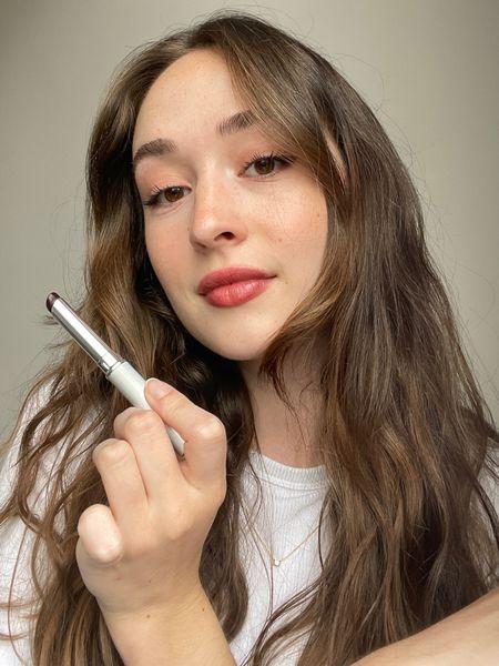 The perfect sheer fall lipstick!   Clinique Almost Lipstick in Black Honey   #LTKstyletip #LTKunder50 #LTKbeauty