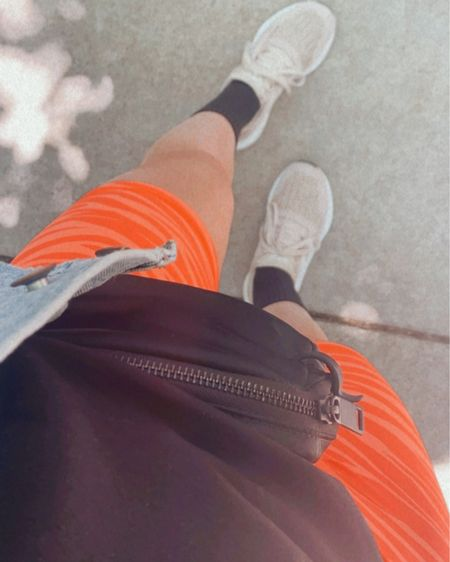 Biker shorts, old navy active, adidas, belt bag, lululemon, tall socks http://liketk.it/3htjb #liketkit @liketoknow.it #LTKfit #LTKunder50 #LTKstyletip