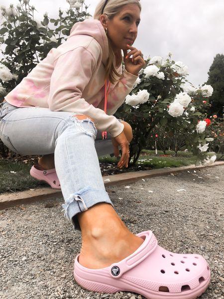 Never underestimate the power of crocs! How cute is this pink? #croctober   #LTKstyletip #LTKshoecrush