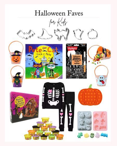 Halloween Faves for Kids - Alternatives to Candy, Halloween Decor, Halloween Books, Halloween Baking Favorites #LTKHolidayHomeInspo   #LTKkids #LTKfamily #LTKHoliday