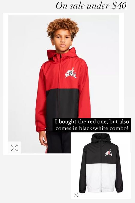 Windbreaker for boys, kids clothes