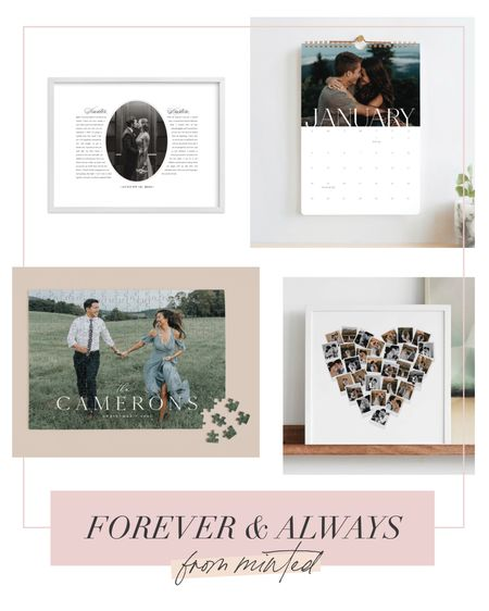 Make your wedding day memories last forever by getting them printed in a fun way for your home. 🎞❤️🥂  #LTKhome #LTKwedding #LTKfamily