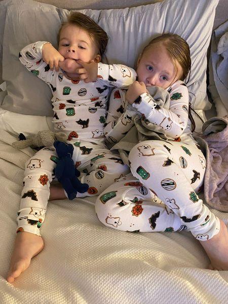 Matching holiday pajamas and Amazon sheets and pillows   #LTKhome #LTKSeasonal #LTKkids
