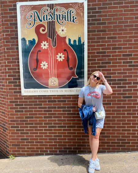 Ok Nashville I'm ready - #tshirtdress $21 and true to size 👉 http://liketk.it/3ggda or Shop your screenshot of this pic with the LIKEtoKNOW.it shopping app @liketoknow.it #liketkit #LTKunder50 #LTKtravel #LTKcurves #memorialdaystyle #ltkseasonal #amazonfashion #amazonfinds #summerdress
