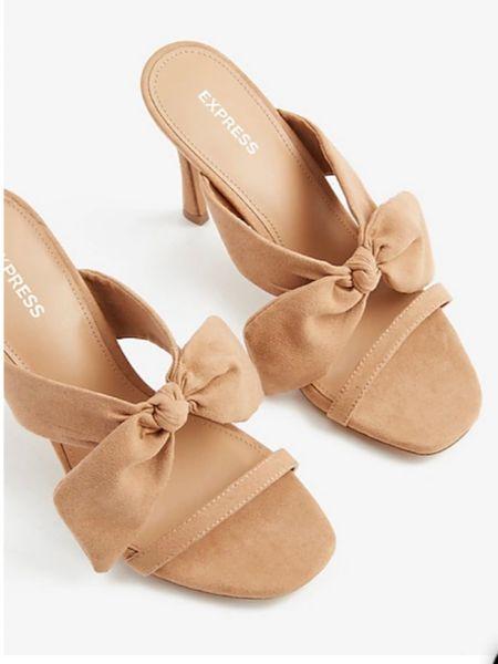 Bow Heels http://liketk.it/3h5zp #liketkit @liketoknow.it #LTKDay #LTKunder100 #LTKshoecrush