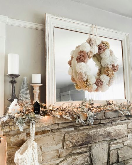 2020 broke me... I decorated before Thanksgiving 🌲🤍 we don't have a tree yet, but I thought I would get a head-start on the rest of the house! Have you started decorating for the holidays yet or are you waiting until after Thursday? http://liketk.it/325lO @liketoknow.it #liketkit  #LTKholiday #holidaydecor #homefortheholidays #christmas #decoration #blondeandblushinghome